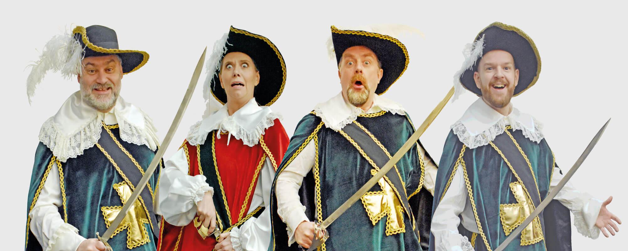 De tre Musketerer AFLYST